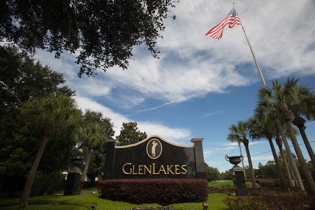 GlenLakes Sign